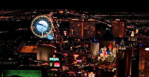 COURTESY COMPASS INVESTMENTS The Skyvue Las Vegas Super Wheel is planned for Las Vegas Boulevard and Mandalay Bay Road